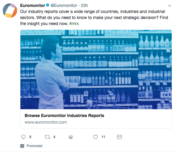promoted twitter post example