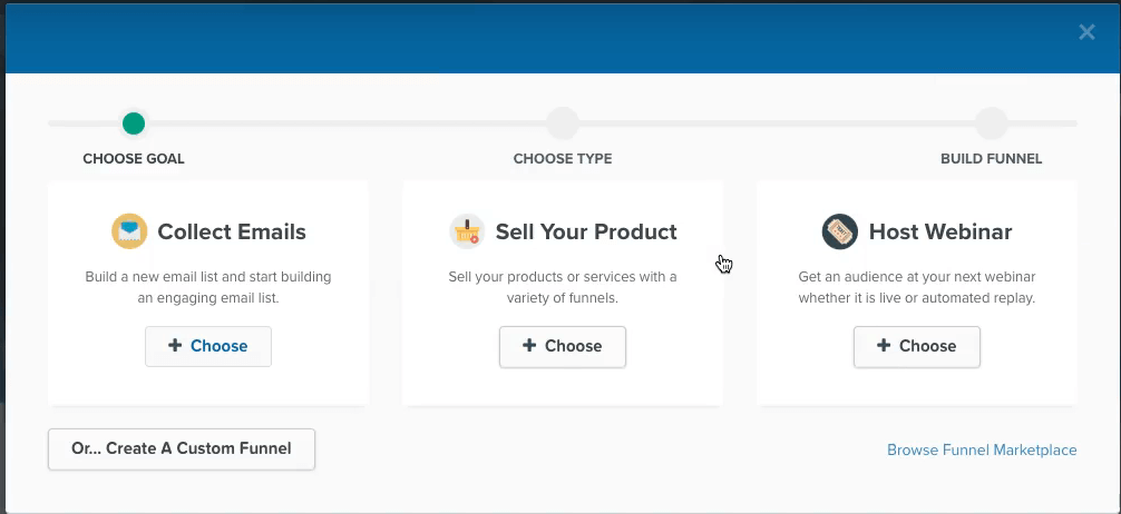 Clickfunnel - Sell your product